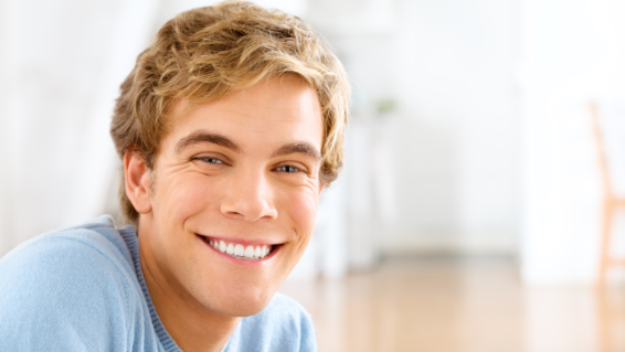 Young Man Smiling | Cosmetic Dentist 72703