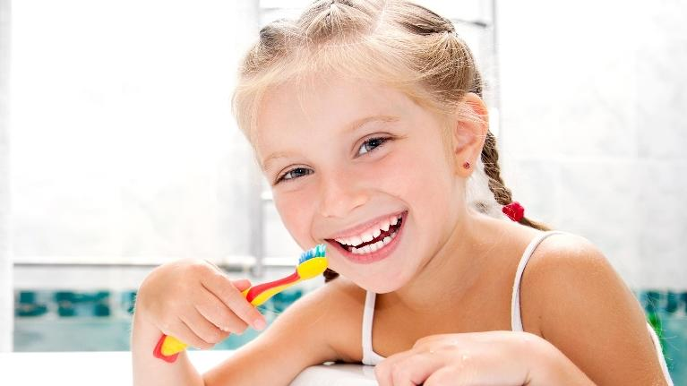 Child Brushing Teeth | Children Dental Anxiety in Fayetteville AR