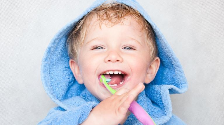 Kid Brushing Teeth | Northwest Arkansas Family Dental