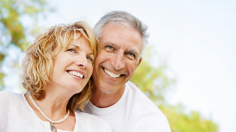 Couple Smiling With Healthy Teeth | General Dentist | Fayetteville AR